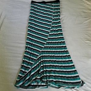Wallpapher Maxi Skirt